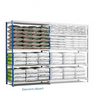 Supermarchés Rang'Eco Plus - Super marchés - Double face - Élément départ